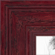 Cherry Stain on Solid Wood Picture frame