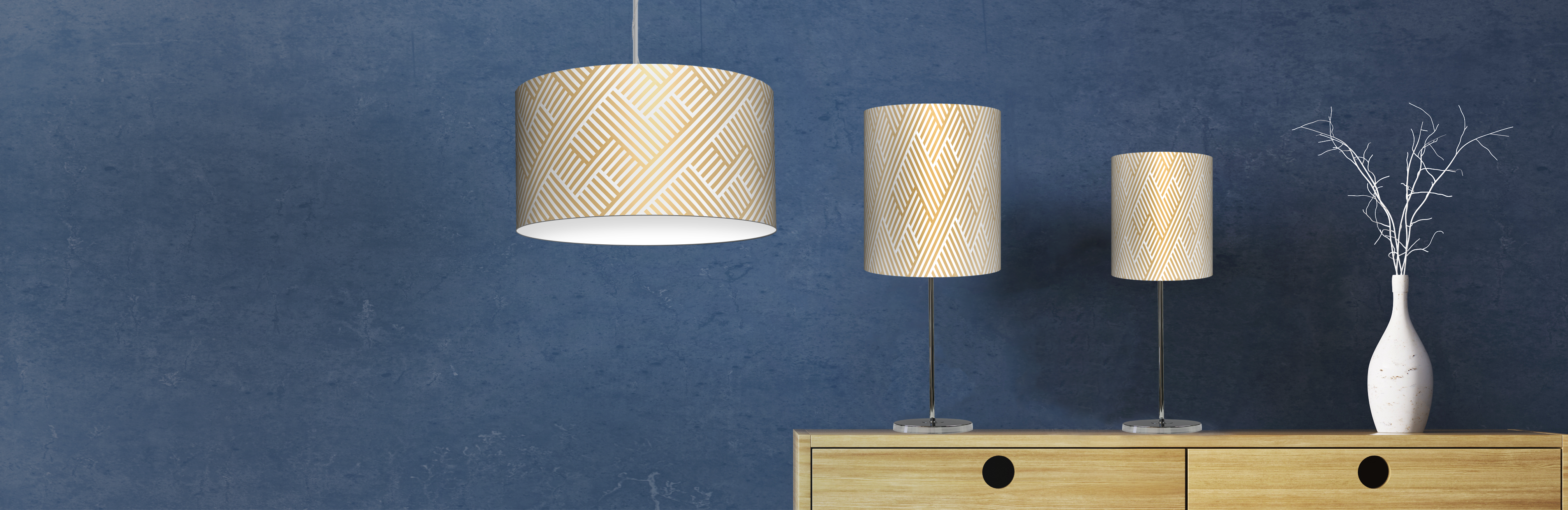 Custom Table Lamps | Customer Printed Lamp Shades | Pendant Lamps ...